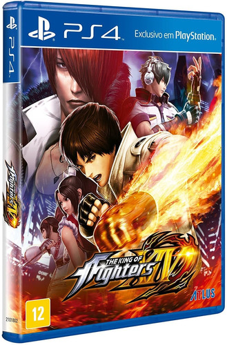 Jogo The King Of Fighters Xiv (novo) Ps4