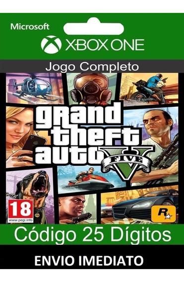 Gta V Xbox One - Envio Imediato - Código 25 Digitos