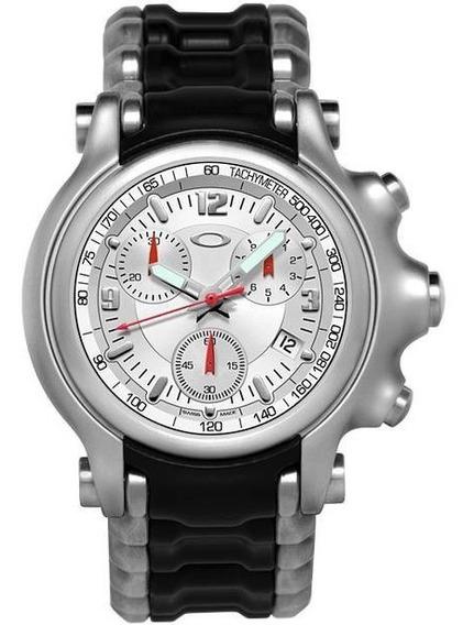 Reloj Oakley Holeshot Bracelet White De Colección Toys4boyst