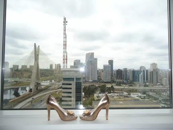 Zapatos Dorados Saverio Di Ricci Y Cartera Sobre