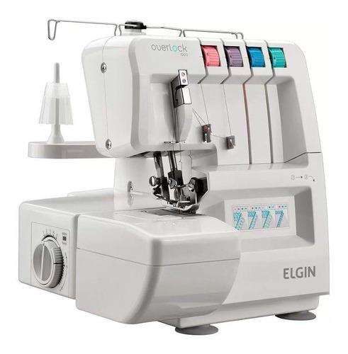 Máquina De Costura Elgin Overlock 1000 Eletrônica 220v