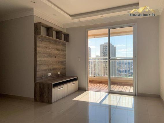 Apartamento Com 3 Dormitórios E Suíte Para Locação, 71 M² - Macedo - Guarulhos/sp - Ap0224