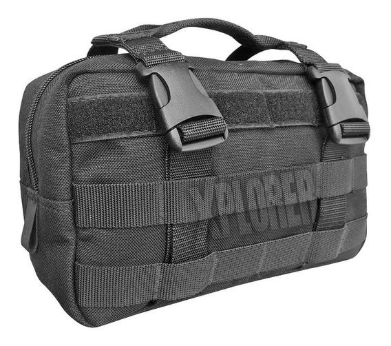 Kit 6 Pouch Tacticos Molle Accesorios Rescue