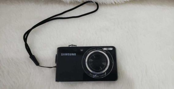 Câmera Digital Samsung Pl100 Com Tela Para Selfie