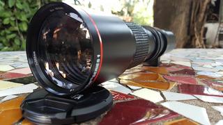 Vivitar 500mm F/8 (montura Sony E - Con 2x Converter)
