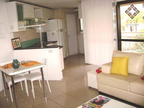 Apartamento Com 1 Dormitório À Venda, 58 M² Por R$ 430.000,00 - Morumbi - São Paulo/sp - Ap9631