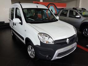 Renault Kangoo Authentique 5p 0km Anticipo, Cuota Burdeos 4