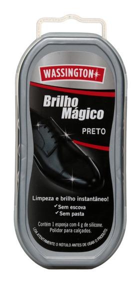 Brilho Mágico Wassington Para Calçados De Couro
