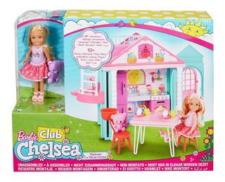 Barbie Casa De Chelsea - (muñeca Y Set De Juego)