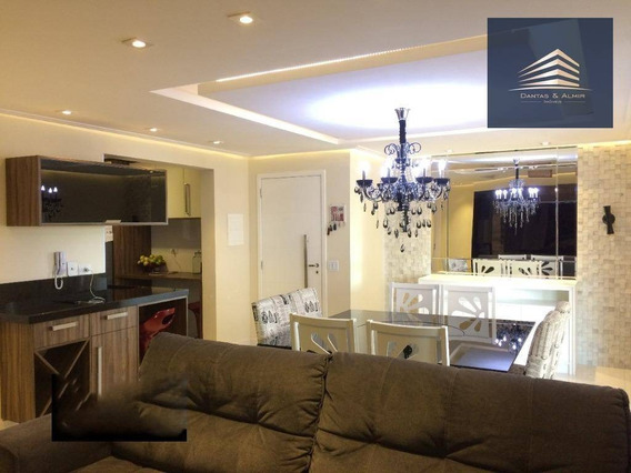 Apartamento Na Vila Augusta, Condomínio Supera 110m², 3 Suítes, 2 Vagas. - Ap0873