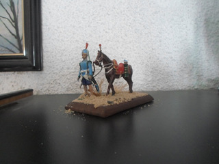 Soldados De Plomo-54 Mm Jenízaro Arquero-con Caballo 1-aitor