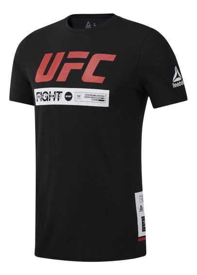 Reebok Remera M/c Lifestyle Hombre Ufc Fan Fight Week
