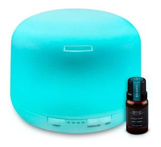 Humificador Difusor De Aromas 500 Ml + Esencia Gratis