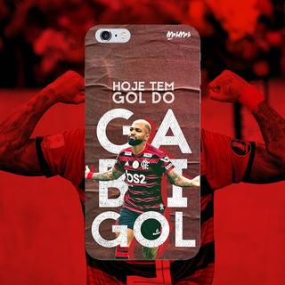 Capa De Celular Flamengo Gabigol iPhone 6/ Iphone7