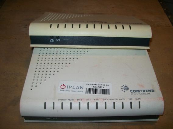 Moden Comtrend Ct5374 X2u Sin Fuentes Y Sin Antenas
