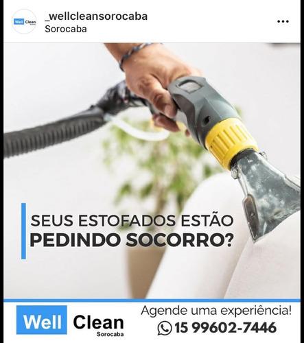 Imagem 1 de 10 de Well Clean Sorocaba - Higienização De Estofados E Colchões