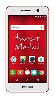 Smartphone Twist S530 16gb Vermelho Positivo+nf