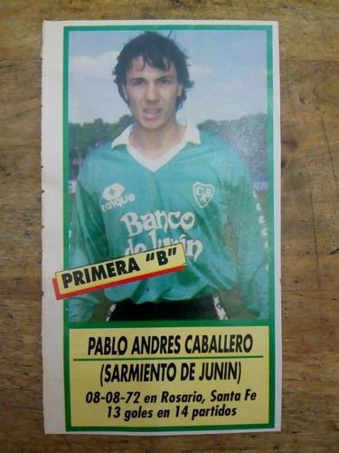 Recorte Sarmiento De Junín De Pablo Andrés Caballero