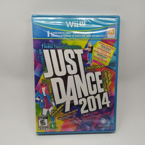 Just Dance 2014 Nintendo Wii U Lacrado Novo