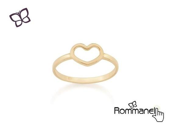 Anel Formato Coração Skinny Ring Rommanel 512711