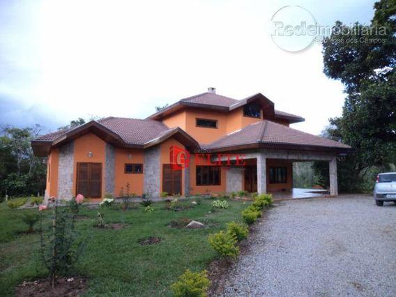 Casa Residencial À Venda, Rio Comprido, Jacareí - Ca0834. - Ca0834