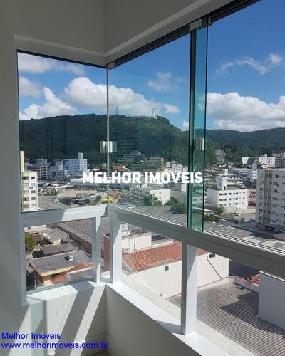 Apartamento Com 03 Suítes Sendo 01 Máster Com Hidro, Churrasqueira, Localizado No Centro De Balneário Camboriú/sc - 1125
