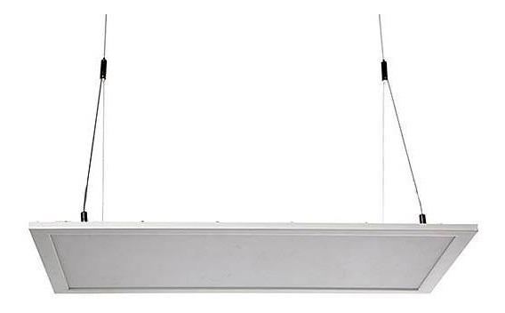 Painel Plafon Embutir Ou Pendurar Led Retangular 24w 4100k