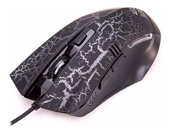 Mouse Gamer Óptico 3200dpi Pc Profissional - Pronta Entrega