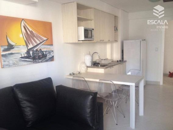 Apartamento Com 2 Dormitórios Para Alugar, 49 M² Por R$ 3.200,00/mês - Meireles - Fortaleza/ce - Ap1088