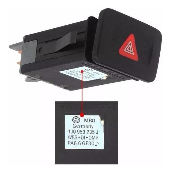 Interruptor Botão Do Pisca Alerta Vw Golf 99/14 Bora 00/11