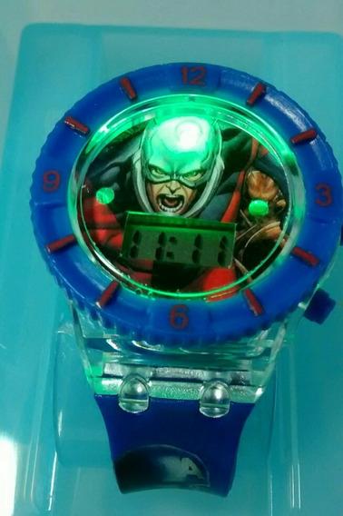 Relógio Infantil Avengers Os Vingadores Marvel Barato Promoç