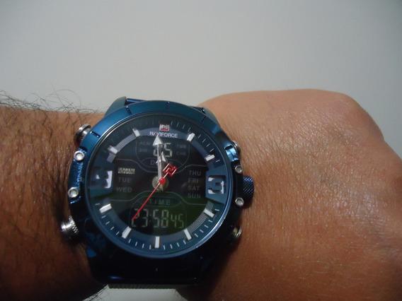 Relógio Naviforce Nf 9153 - Azul