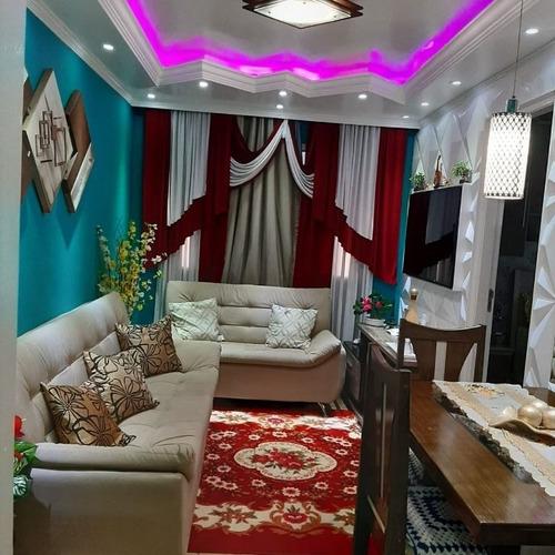 Apartamento Em Vila Virgínia, Itaquaquecetuba/sp De 54m² 2 Quartos À Venda Por R$ 250.000,00 - Ap1018955