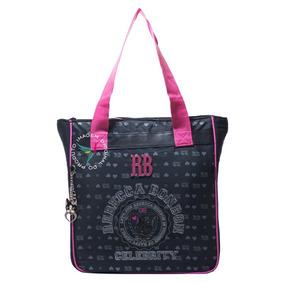 96324bfc9 Tote Bag Rebecca Bonbon - Bagagem e Bolsas Preto no Mercado Livre Brasil