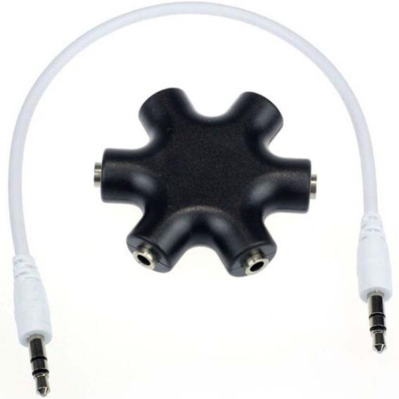 Adaptador P2 Audio 1 Macho Para 2 3 4 5 Feme Frete Barato