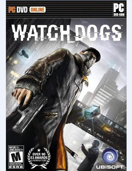 Watch Dogs Pc Mídia Física Novo Lacrado