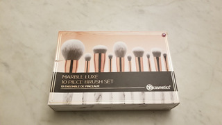 Bh Cosmetics Marble Luxe - 10 Piece Brush Set Ver Detalle