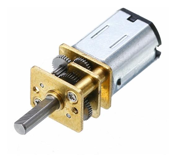 Mini Motor 12v Dc 100rpm Alto Torque 1 Un
