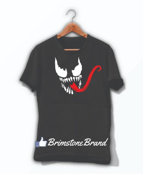 Playera Venom Marvel Superheroes 5 Logo Hombre O Mujer