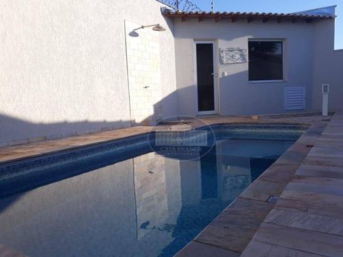 Imagem 1 de 19 de Casa Com Piscina, Sauna E Churrasqueira, Em Condomínio Fechado! - Ca1744