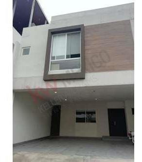 Renta Casa Nueva En Privada Puerta De Hierro