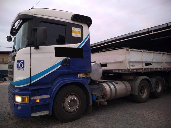 Scania R-440 A 6x2 Automática 2014 C/ Retarder