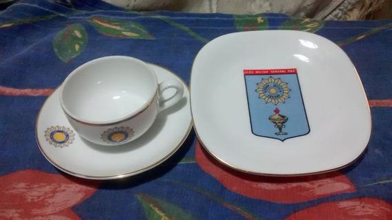 Taza Plato De Cafe Y 1 Plato Colgar Verbano $ 350