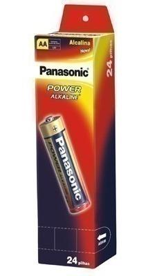 Pilha Panasonic Alcalina Lr6-24 Pequena Com 24 Unidade 27609