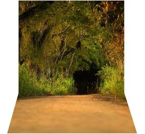 Fundo Fotográfico Em Tecido Gigante Floresta Ffc-503 - 3x4m
