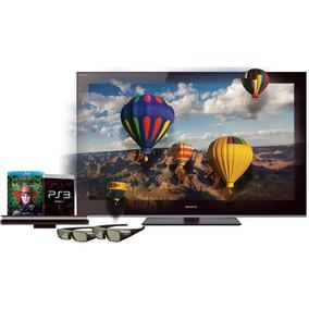 Kit 2 Óculos 3d Sony + Transmissor Tmr-br10 + 2dvd Tv Bravia