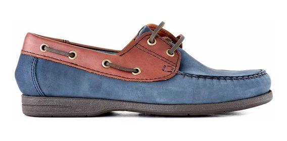 Náutico Hombre Nauticos Cuero Zapatos Briganti Hcna00413