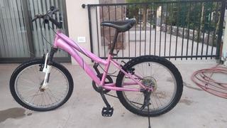 Bicicleta Montanbike Con Suspensión Delantera Y Cambios