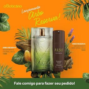Combo Arbo Reserva: Des. Colônia + Desodorante Body Spray