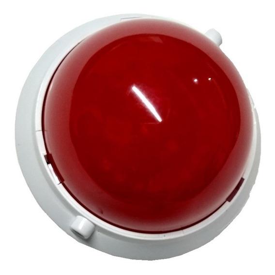 Sinaleiro Acessório Strobe Vermelho Genno